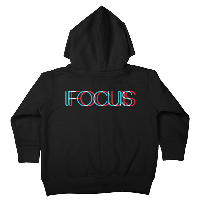 FOCUS Kids Toddler Zip-Up Hoody by netralica's Artist Shop