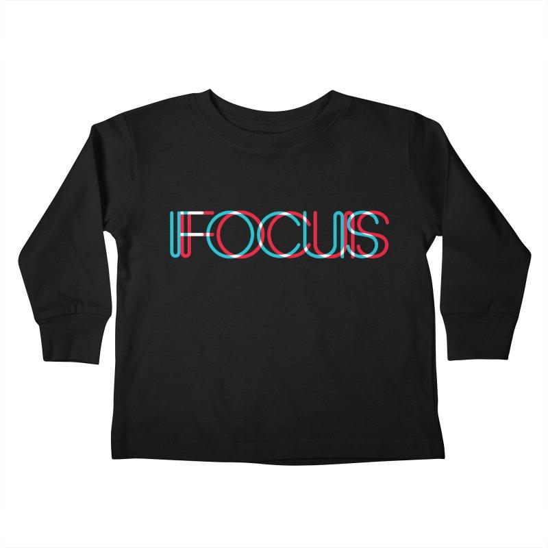 FOCUS Kids Toddler Longsleeve T-Shirt by netralica