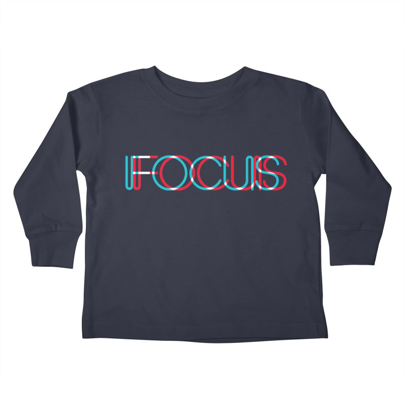 FOCUS Kids Toddler Longsleeve T-Shirt by netralica's Artist Shop