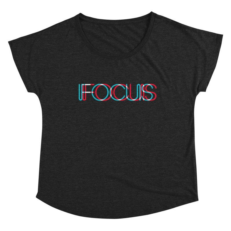 FOCUS Women's Dolman Scoop Neck by netralica