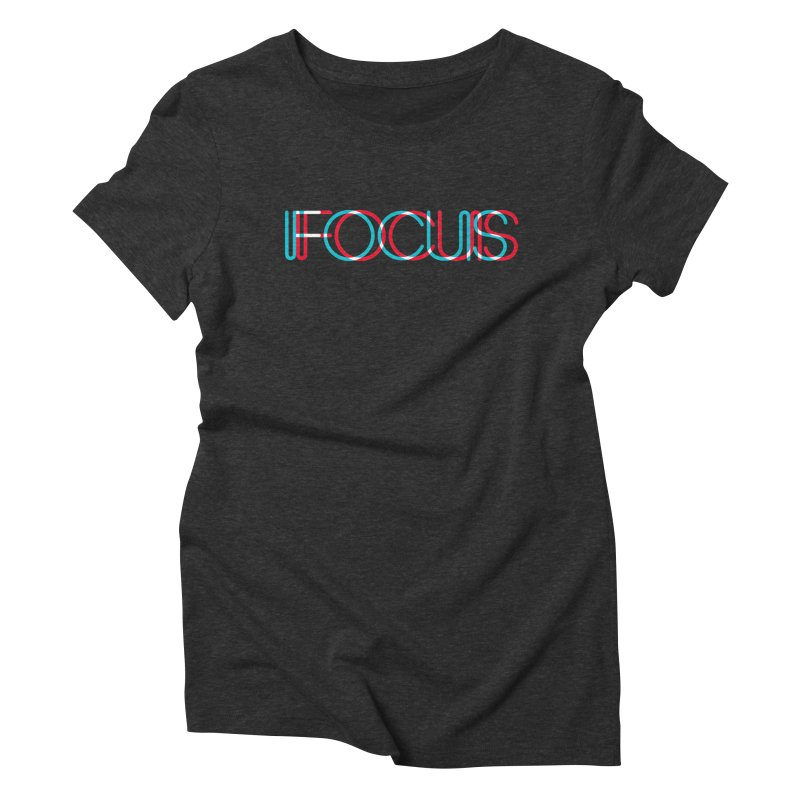FOCUS Women's Triblend T-Shirt by netralica's Artist Shop