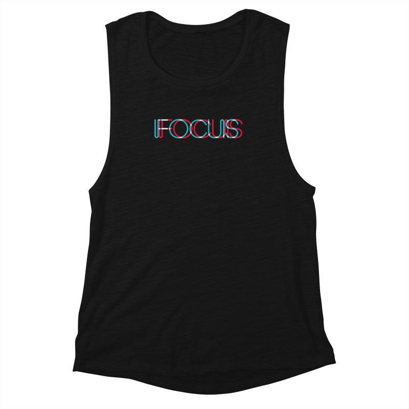 FOCUS Women's Muscle Tank by netralica's Artist Shop