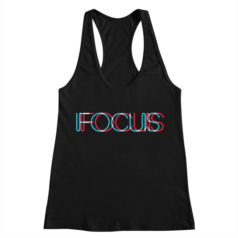 FOCUS Women's Racerback Tank by netralica's Artist Shop