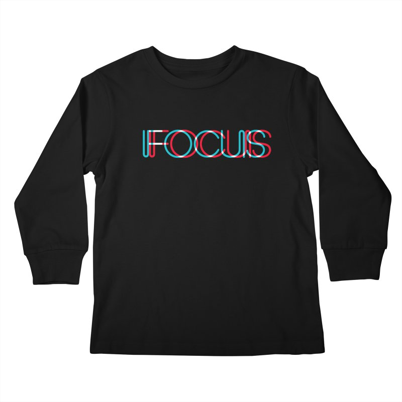 FOCUS Kids Longsleeve T-Shirt by netralica's Artist Shop