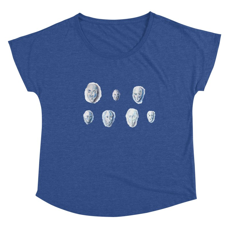 Heading in Women's Dolman Scoop Neck Heather Royal by Nevche's Artist T-shirt Shop | Unique Designs