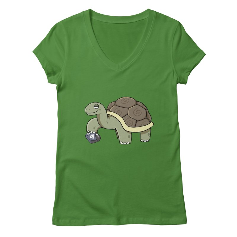 Never Idle - Brian 2019 - Chest Women's Regular V-Neck by Never Idle