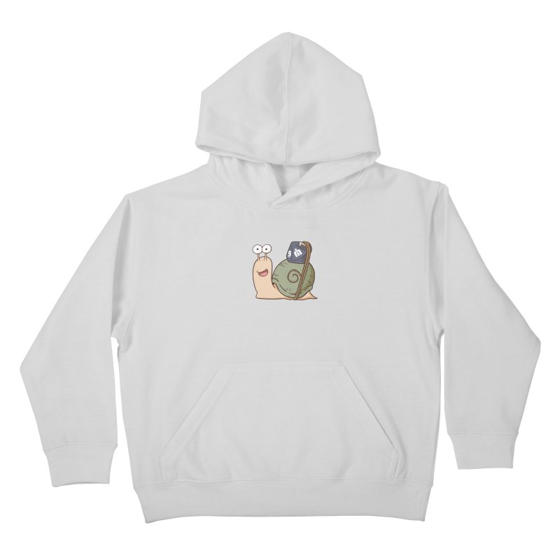 Never Idle - Ann 2019 - Chest Kids Pullover Hoody by Never Idle