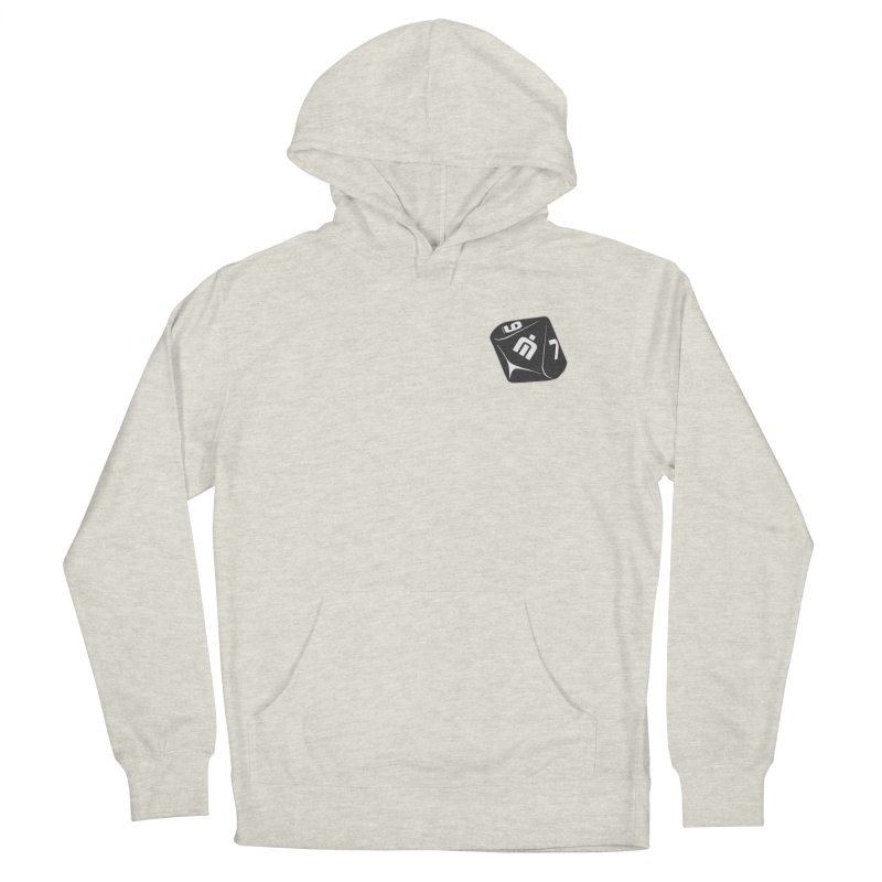 Never Idle - Dice 2018 - Badge Men's French Terry Pullover Hoody by Never Idle