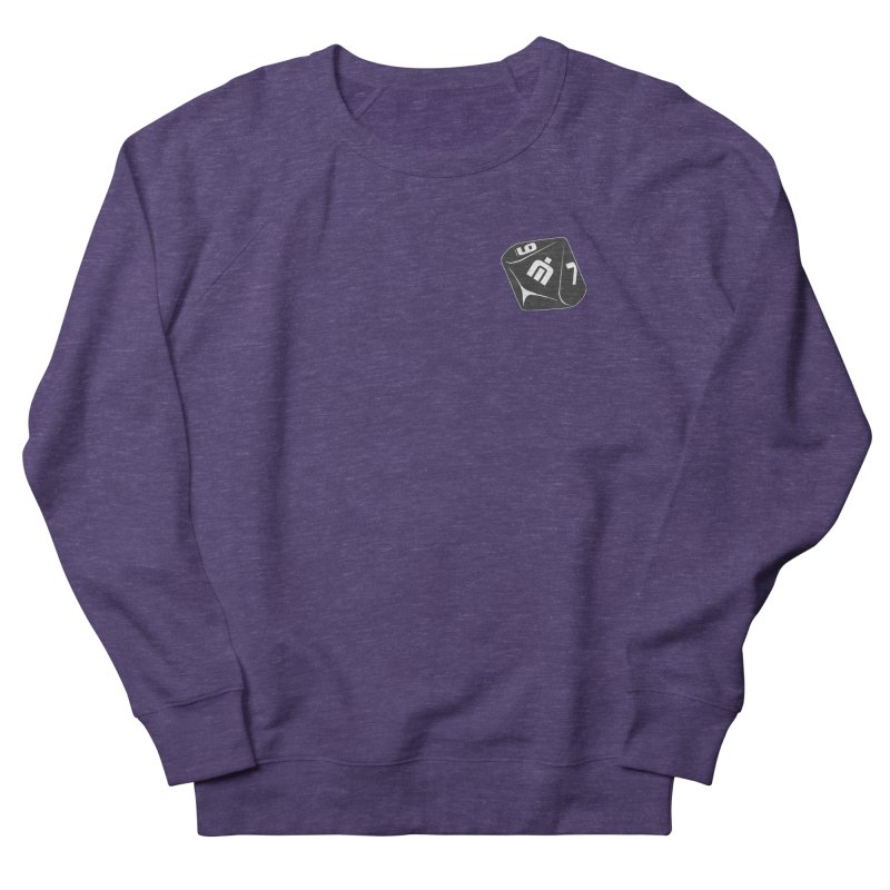 Never Idle - Dice 2018 - Badge Women's French Terry Sweatshirt by Never Idle