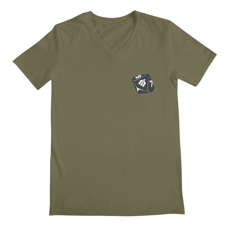 Never Idle - Dice 2018 - Badge Men's Regular V-Neck by Never Idle