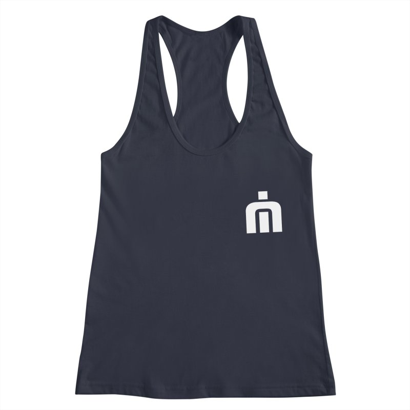 Never Idle - Emblem 2018 - Badge Women's Racerback Tank by Never Idle