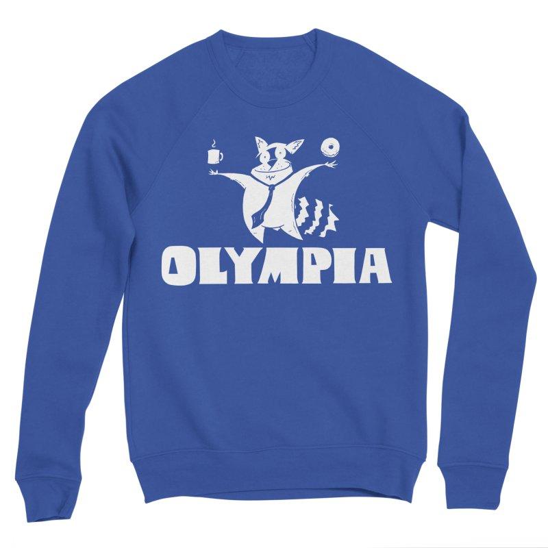 Olympia Raccoon Men's Sponge Fleece Sweatshirt by P. Calavara's Artist Shop