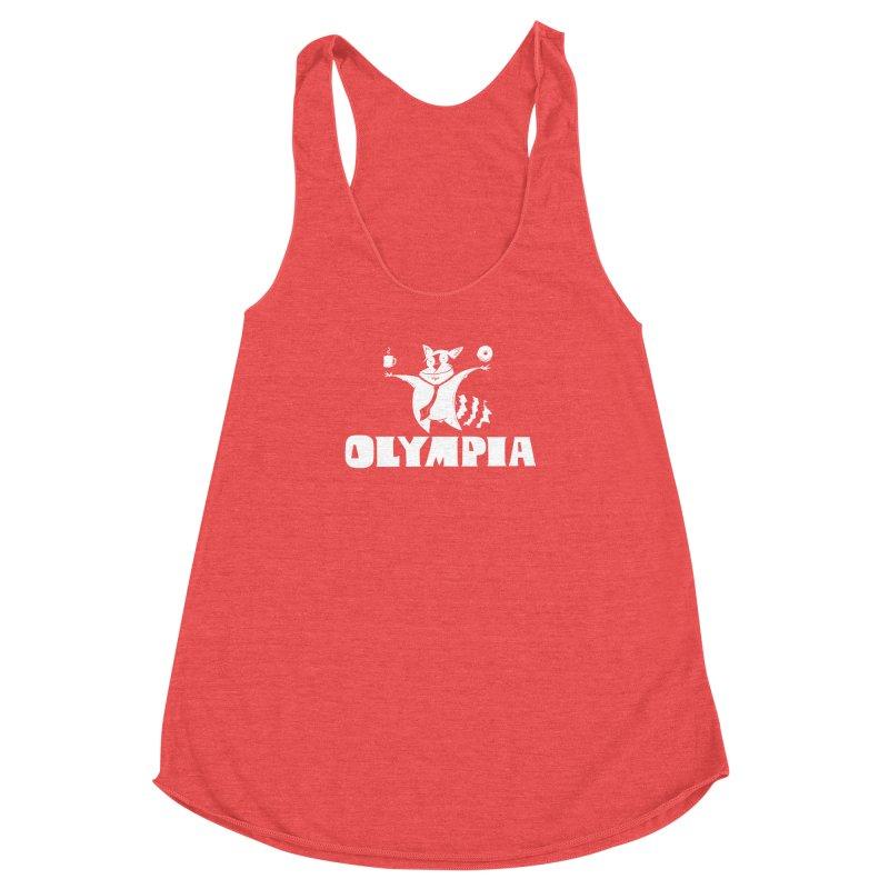 Olympia Raccoon Women's Tank by P. Calavara's Artist Shop