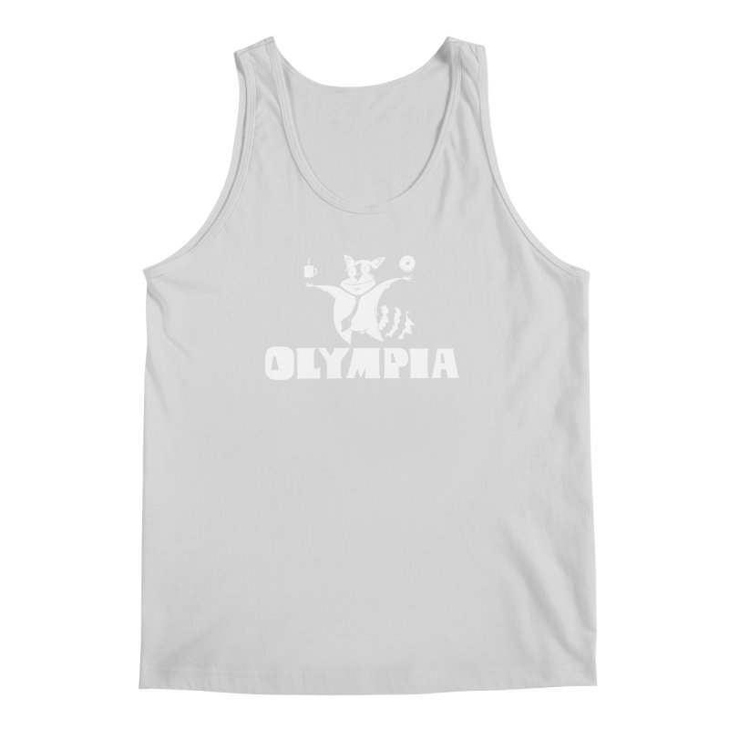 Olympia Raccoon Men's Regular Tank by P. Calavara's Artist Shop