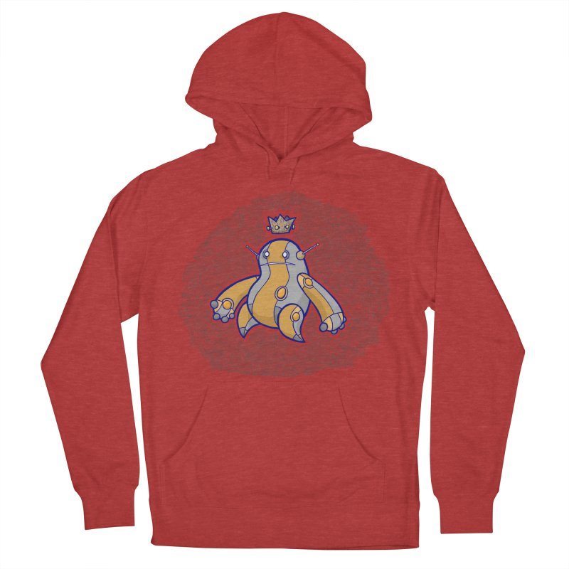 King of Robots Women's French Terry Pullover Hoody by P. Calavara's Artist Shop