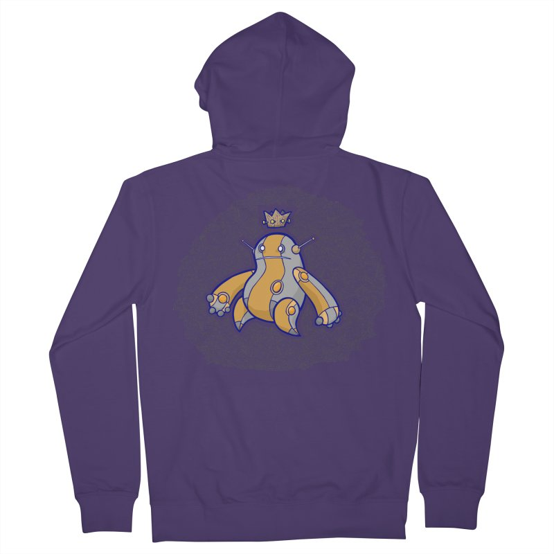 King of Robots Women's Zip-Up Hoody by P. Calavara's Artist Shop