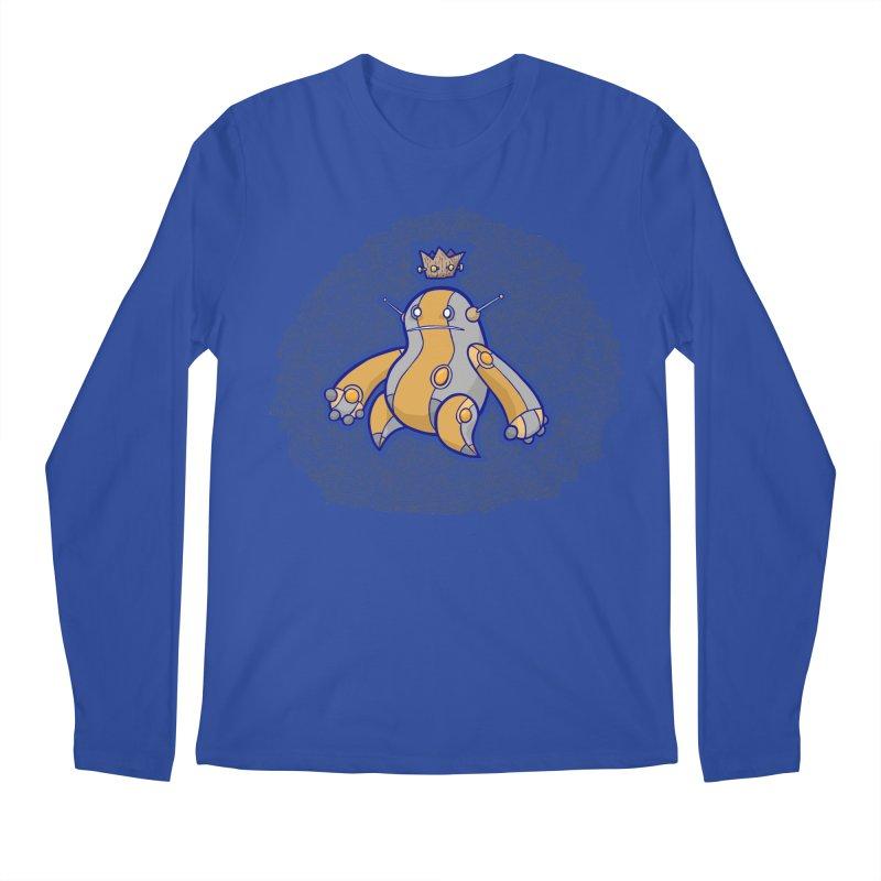 King of Robots Men's Longsleeve T-Shirt by P. Calavara's Artist Shop