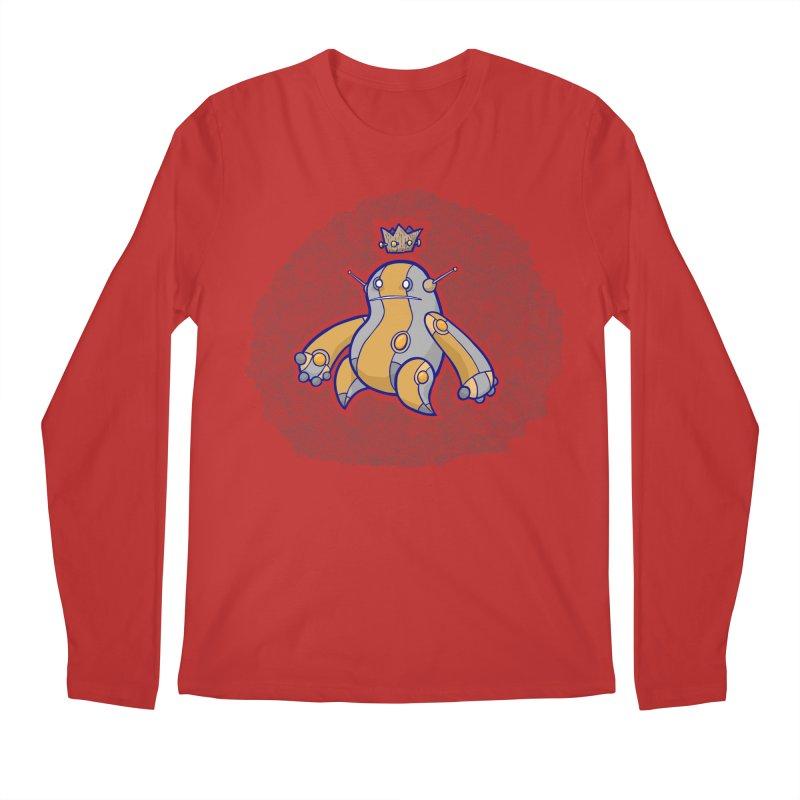 King of Robots Men's Regular Longsleeve T-Shirt by P. Calavara's Artist Shop