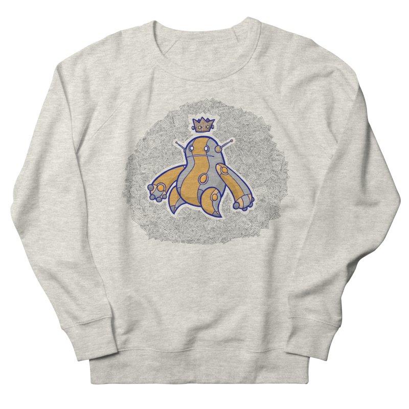 King of Robots Women's French Terry Sweatshirt by P. Calavara's Artist Shop