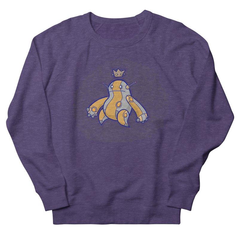 King of Robots Men's French Terry Sweatshirt by P. Calavara's Artist Shop