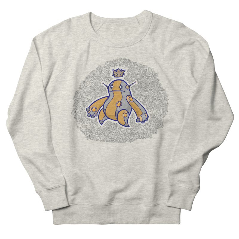 King of Robots Men's Sweatshirt by P. Calavara's Artist Shop
