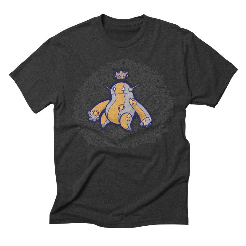 King of Robots Men's Triblend T-Shirt by P. Calavara's Artist Shop