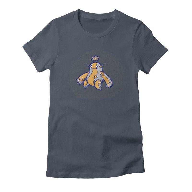 King of Robots Women's T-Shirt by P. Calavara's Artist Shop