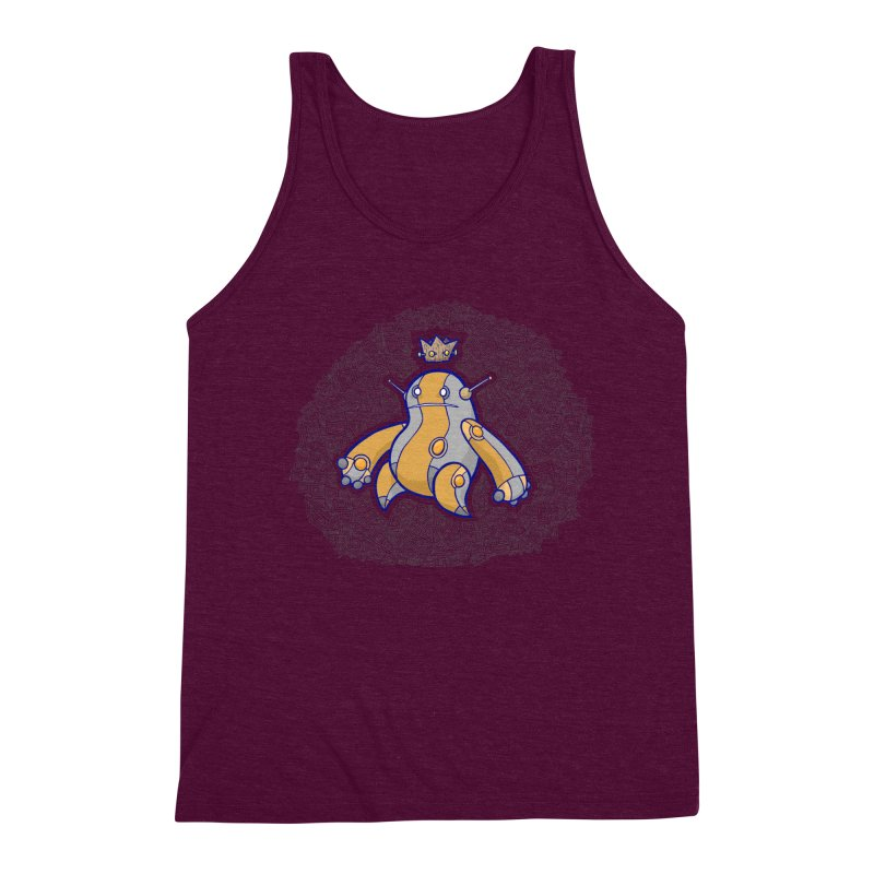 King of Robots Men's Triblend Tank by P. Calavara's Artist Shop