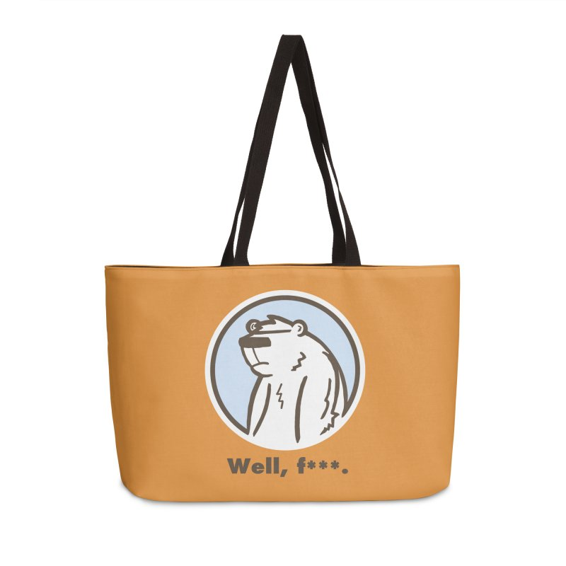 Well, cuss. Accessories Weekender Bag Bag by P. Calavara's Artist Shop