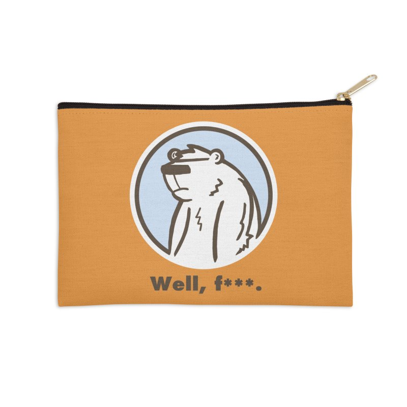 Well, cuss. Accessories Zip Pouch by P. Calavara's Artist Shop