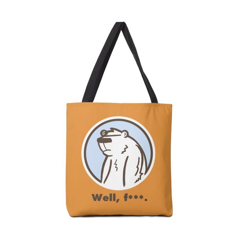 Well, cuss. Accessories Bag by P. Calavara's Artist Shop