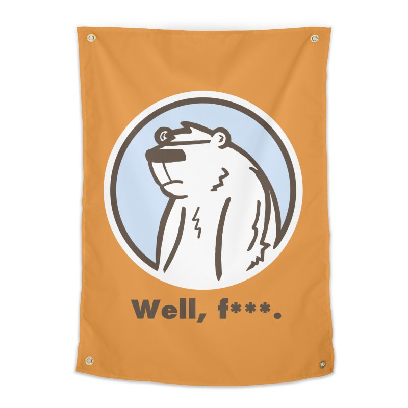 Well, cuss. Home Tapestry by P. Calavara's Artist Shop
