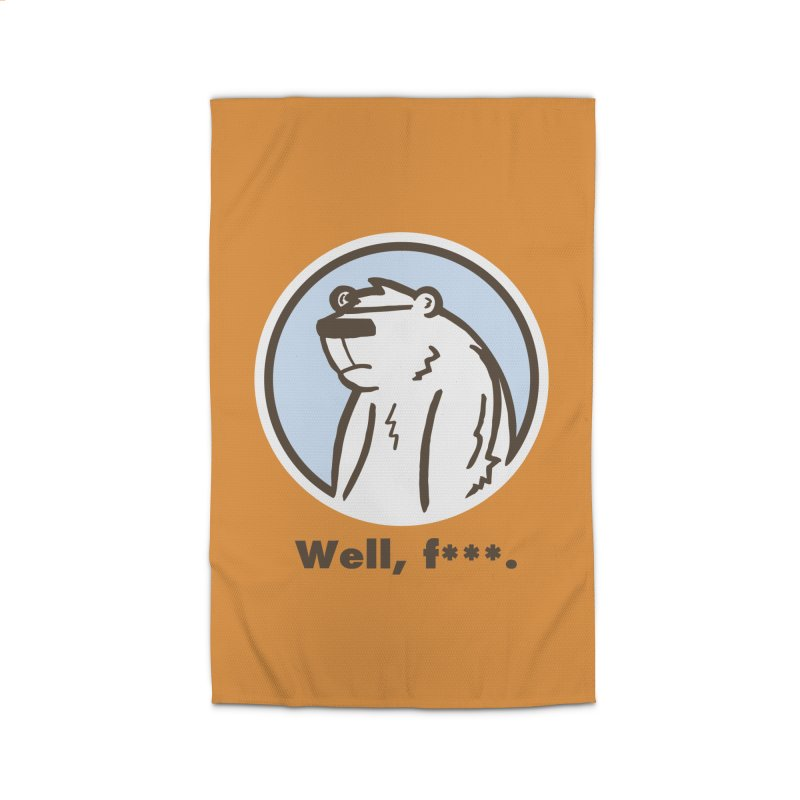 Well, cuss. Home Rug by P. Calavara's Artist Shop