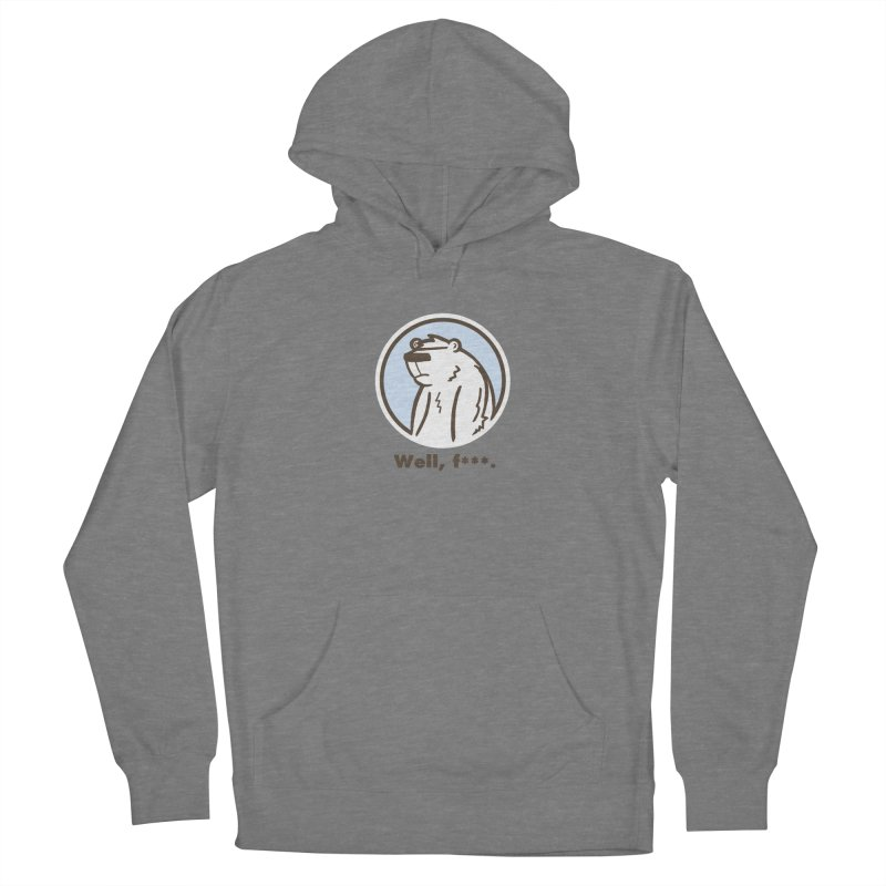 Well, cuss. Women's Pullover Hoody by P. Calavara's Artist Shop