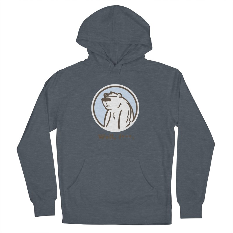 Well, cuss. Women's French Terry Pullover Hoody by P. Calavara's Artist Shop