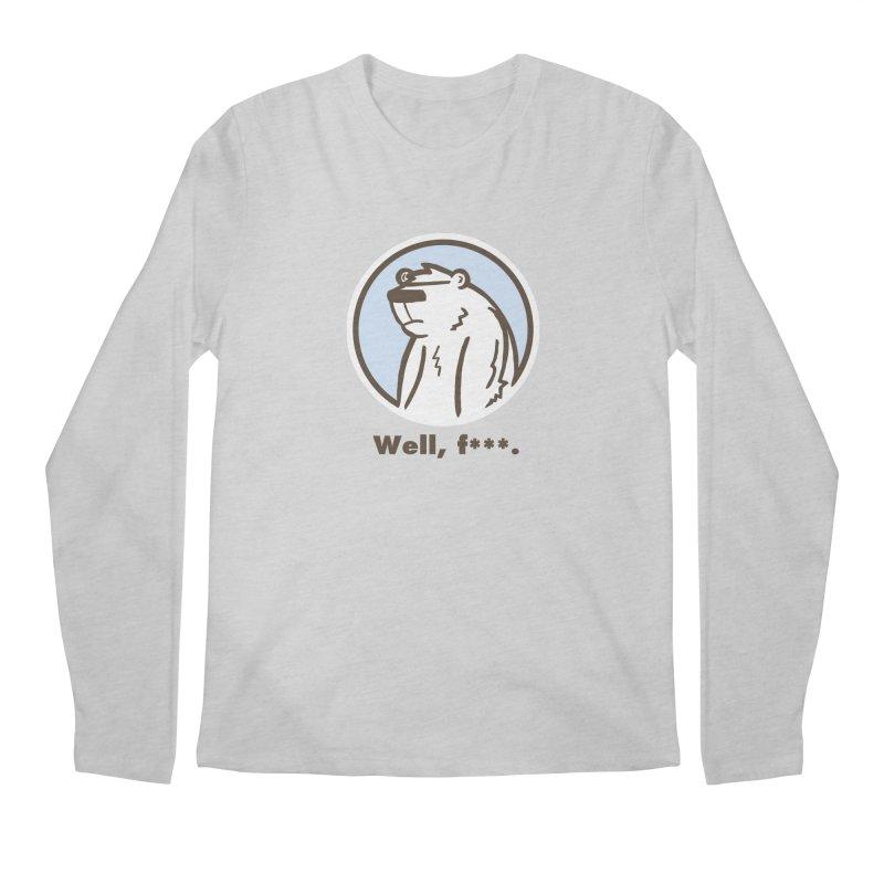 Well, cuss. Men's Regular Longsleeve T-Shirt by P. Calavara's Artist Shop