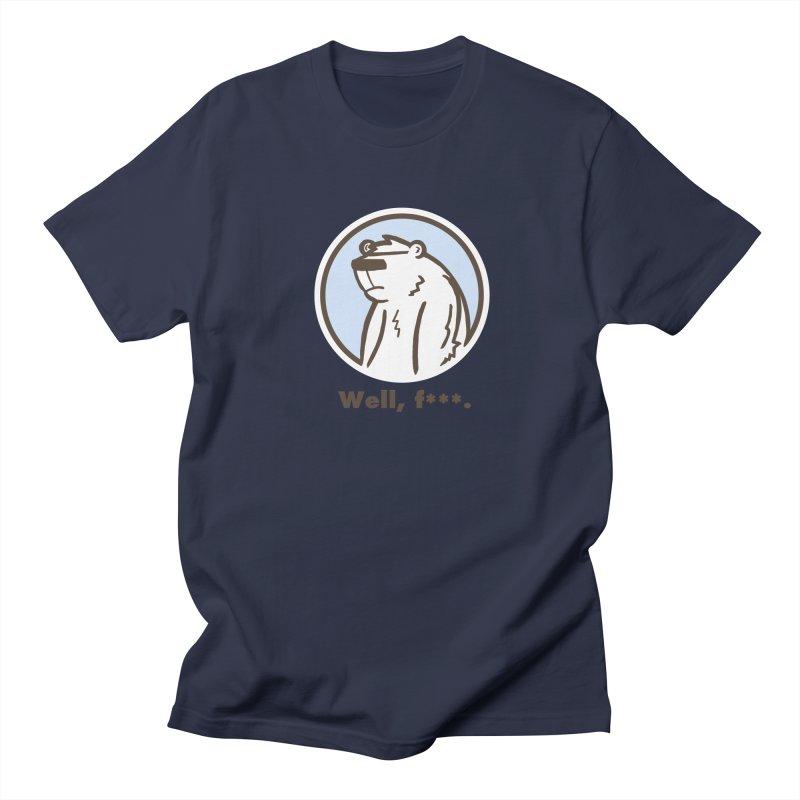 Well, cuss. Men's T-shirt by P. Calavara's Artist Shop