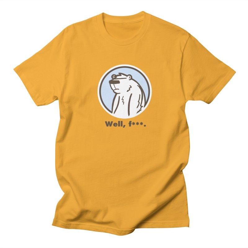 Well, cuss. Men's Regular T-Shirt by P. Calavara's Artist Shop
