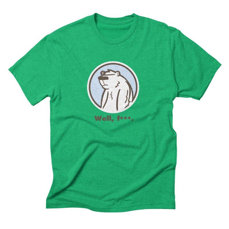 Well, cuss. Men's Triblend T-Shirt by P. Calavara's Artist Shop