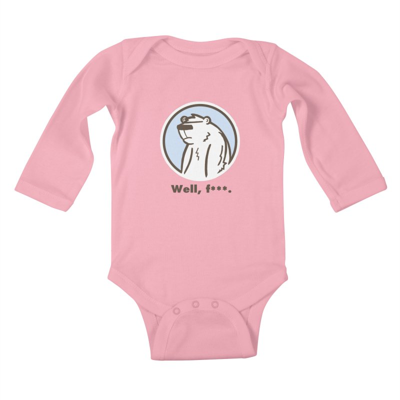 Well, cuss. Kids Baby Longsleeve Bodysuit by P. Calavara's Artist Shop