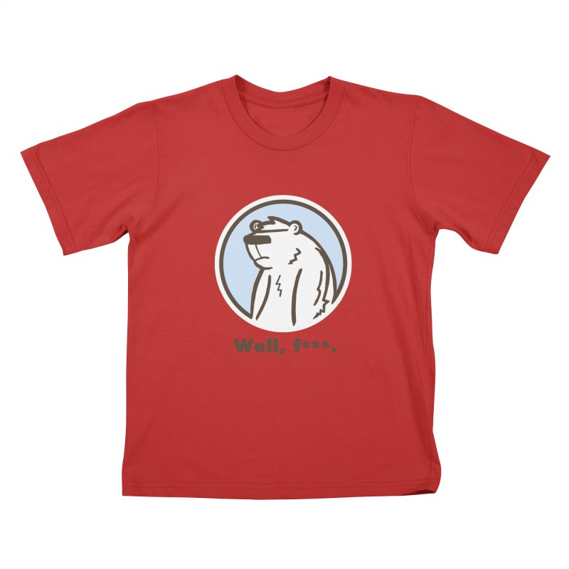 Well, cuss. Kids T-Shirt by P. Calavara's Artist Shop