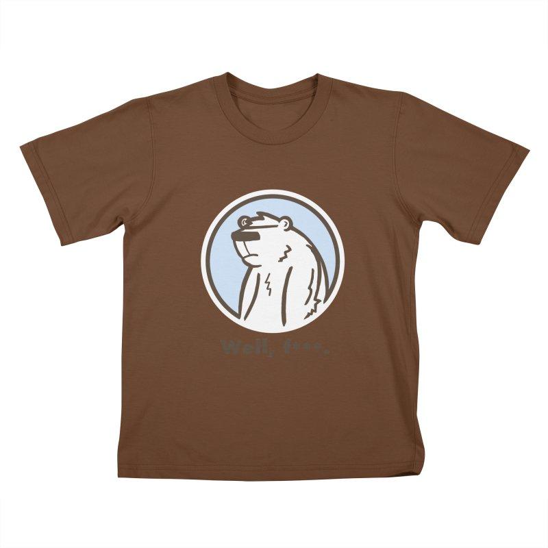 Well, cuss. Kids T-shirt by P. Calavara's Artist Shop