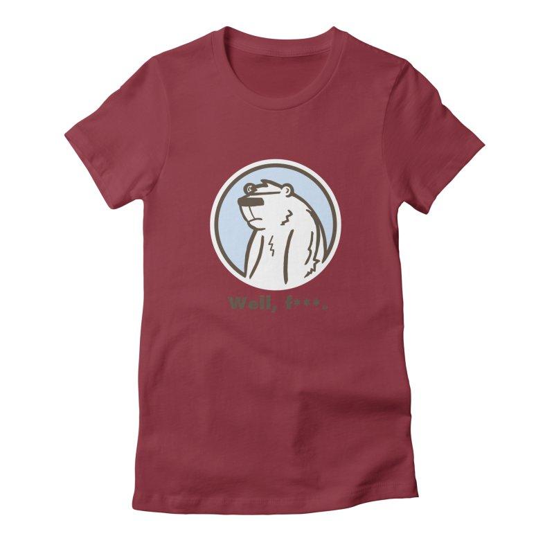 Well, cuss. Women's T-Shirt by P. Calavara's Artist Shop