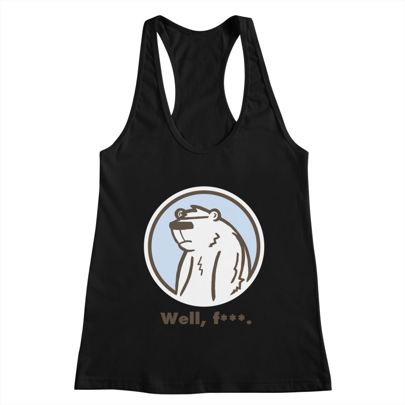 Well, cuss. Women's Tank by P. Calavara's Artist Shop