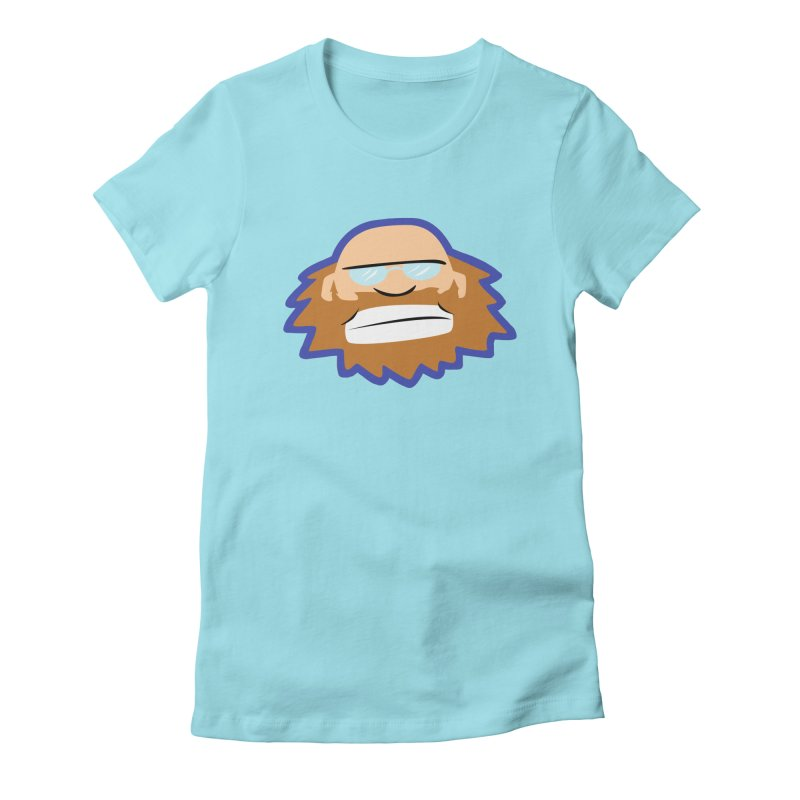 Jerry Women's Fitted T-Shirt by P. Calavara's Artist Shop