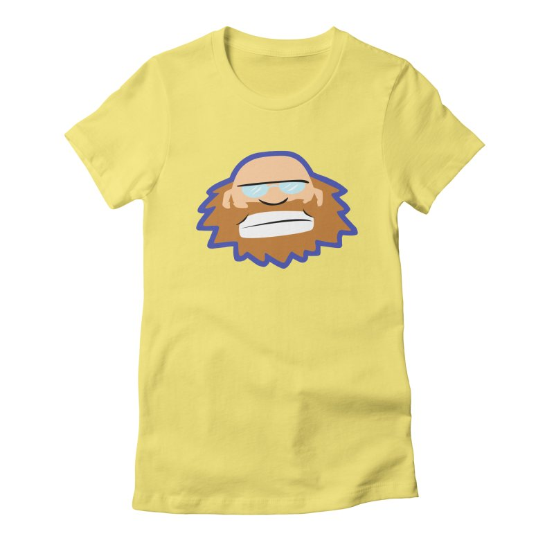 Jerry Women's Fitted T-Shirt by P. Calavara's Artist Shop