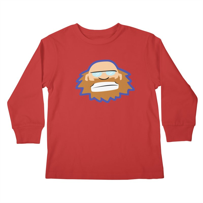 Jerry Kids Longsleeve T-Shirt by P. Calavara's Artist Shop