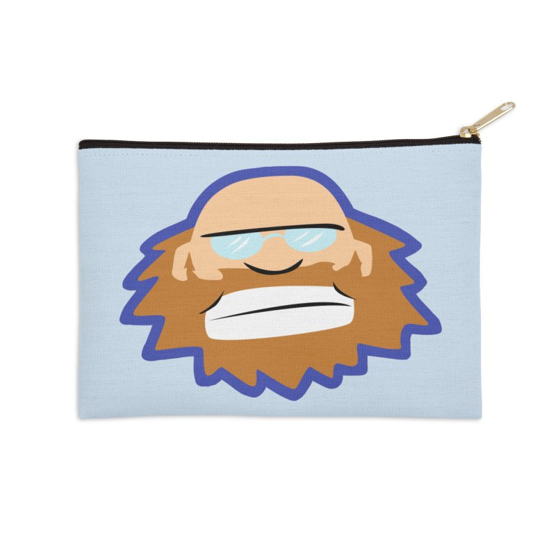 Jerry Accessories Zip Pouch by P. Calavara's Artist Shop