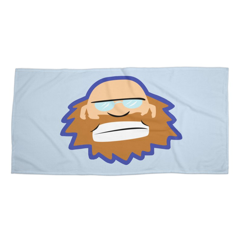Jerry Accessories Beach Towel by P. Calavara's Artist Shop