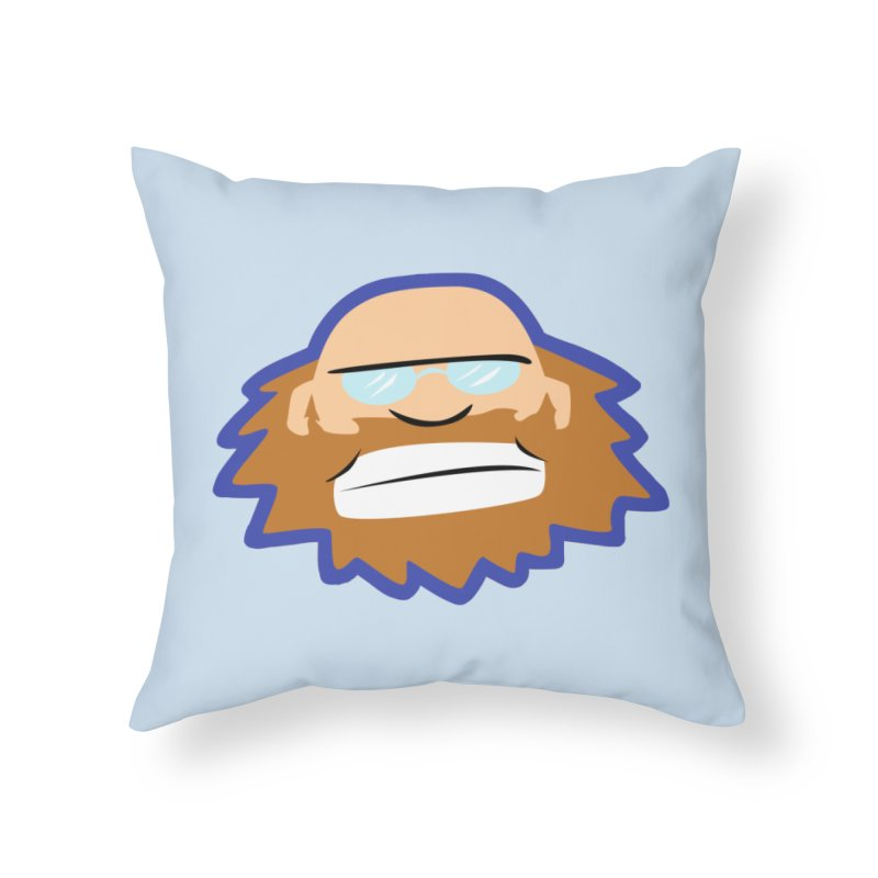 Jerry Home Throw Pillow by P. Calavara's Artist Shop